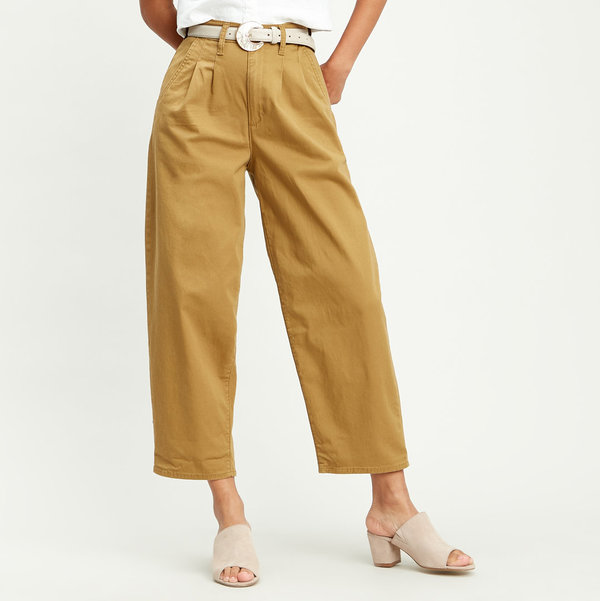 LEVI'S Pleated Ballon - Dull Gold