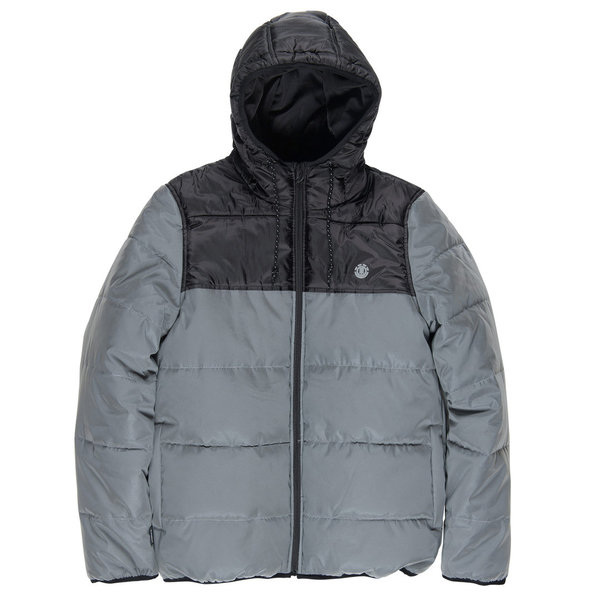 ELEMENT Heavy Puffer - Reflective Grey
