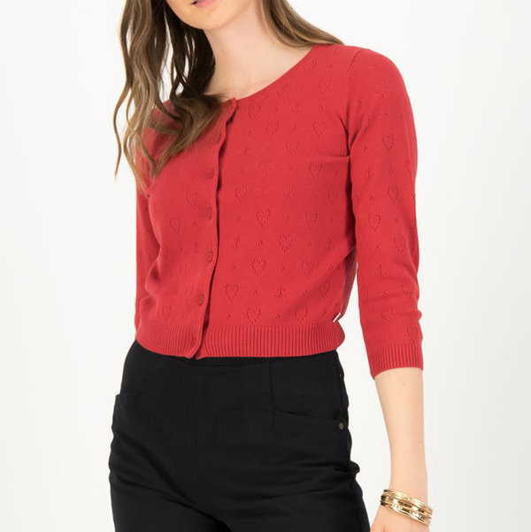 BLUTSGESCHWISTER Roundneck - Red Anchor Ahoi